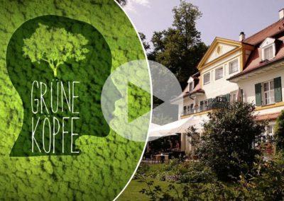 Grüne Köpfe: Andreas Schwabe vom Bio-Hotel Schlossgut Oberambach