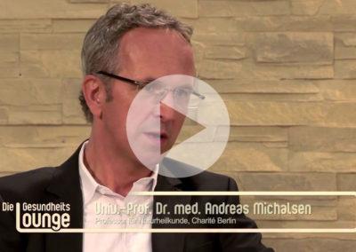 Persönlicher Tipp gegen Rückenschmerzen von Professor Dr. Andreas Michalsen