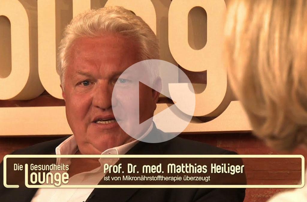 Der persönliche Präventiv-Aging-Tipp von Professor Dr. Matthias Heiliger