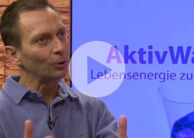 Persönliche Erfahrungen von Kurt Hörmann mit Aktivwasser