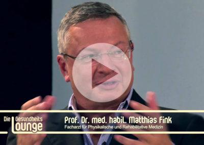 Persönlicher Tipp gegen Rückenschmerzen von Professor Dr. Matthias Fink