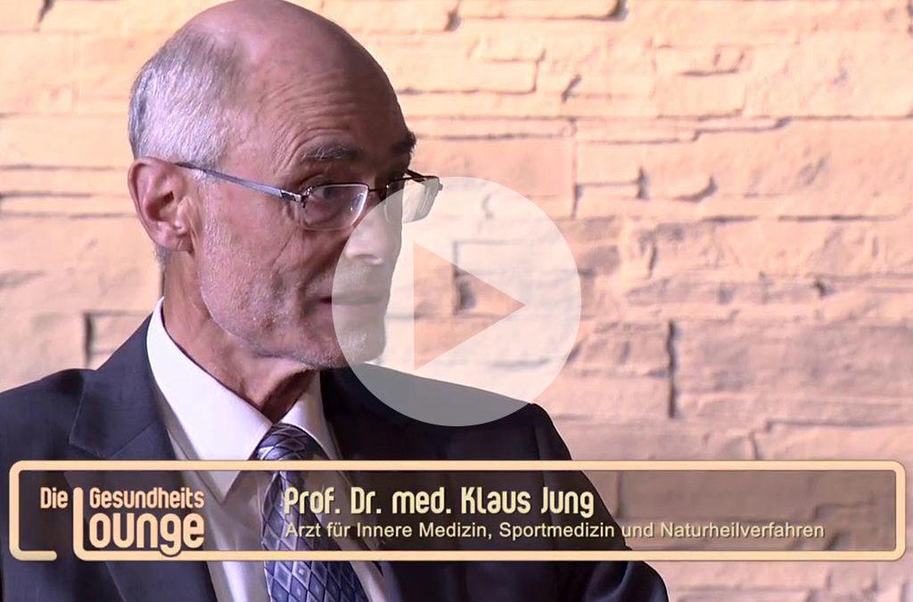 Burnout – Professor Dr. Klaus Jung über die Behandlung mit energetisierter Atemluft