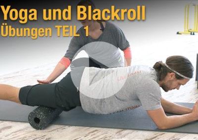 Faszientraining mit Yoga und Blackroll TEIL 1 – Übungen zum Mitmachen