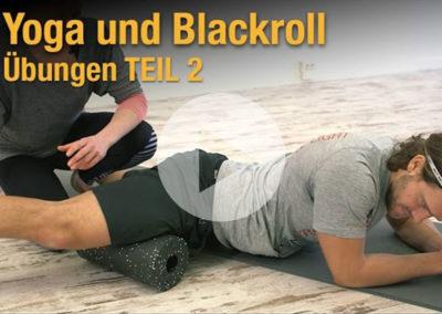 Faszientraining mit Yoga und Blackroll TEIL 2 – Übungen zum Mitmachen