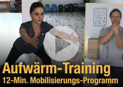 Training zu Hause: Mobilisieren & Aufwärmen – 12 Minuten Programm