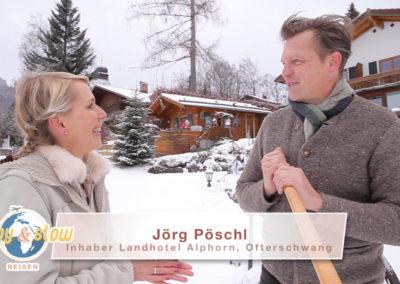 Landhotel Alphorn im Winter