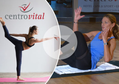Fitness Lounge – Bauchtraining mit Andrea